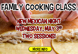 Jefferson Family Cooking Class - May 3rd